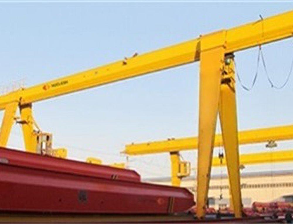 10 ton gantry crane exports to Saudi Arabia
