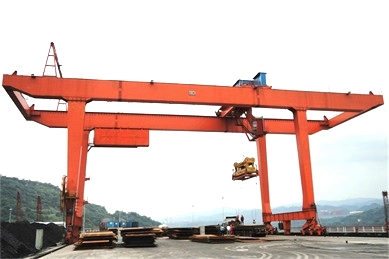 Rail-mounted-gantry-crane
