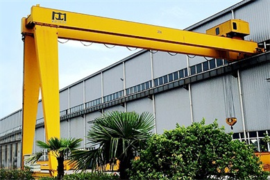 double-girder-semi-gantry-crane