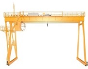 european type double girder gantrycrane