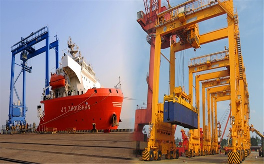 Cranes For Shipyards And Container Handing Industry