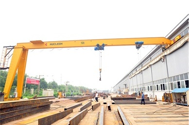 single-girder-semi-gantry-crane