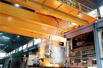 cranes for steel industry