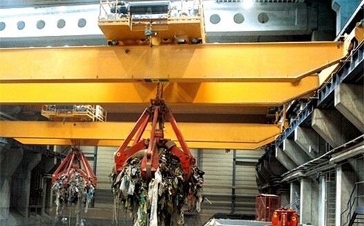 Cranes for Waste to Energe and Biomass Industry
