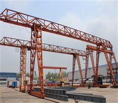 truss-type-single girder gantry-crane