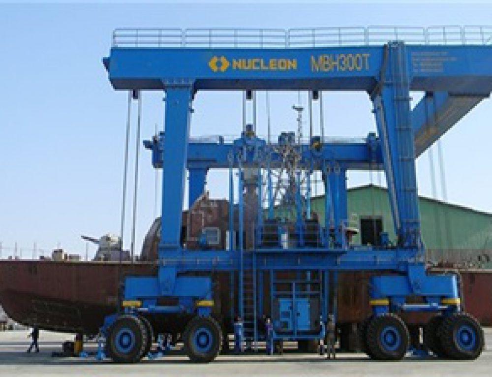 300t marine hoist exports to Iran